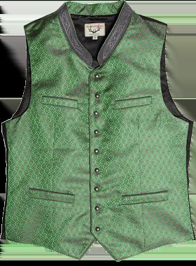 Traditional waistcoat ARNIE green
